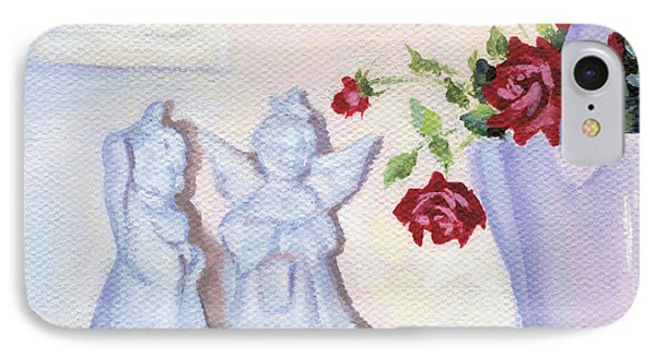 Still Life With Angels IPhone Case by Natasha Denger