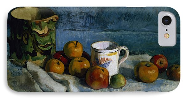 Still Life With Apples Cup And Pitcher IPhone Case