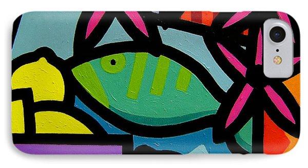 Still Life With Fish Phone Case by John  Nolan
