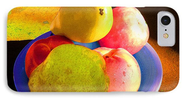 Still Life With Fruit IPhone Case by Ginny Schmidt