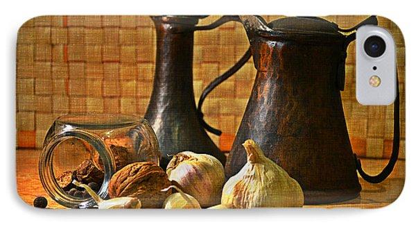 Still Life With Garlic IPhone Case