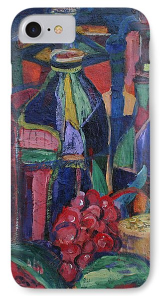 Still Life With Grapes Phone Case by Avonelle Kelsey