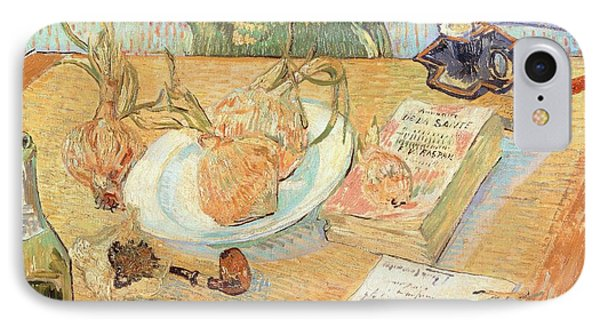 Still Life With Onions Phone Case by Vincent van Gogh