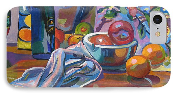 IPhone Case featuring the painting Still Life With Oranges by Clyde Semler