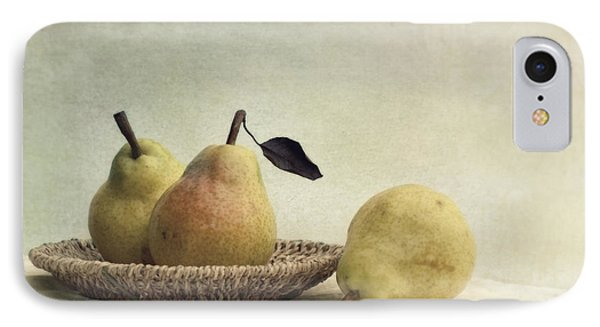 Still Life With Pears Phone Case by Priska Wettstein