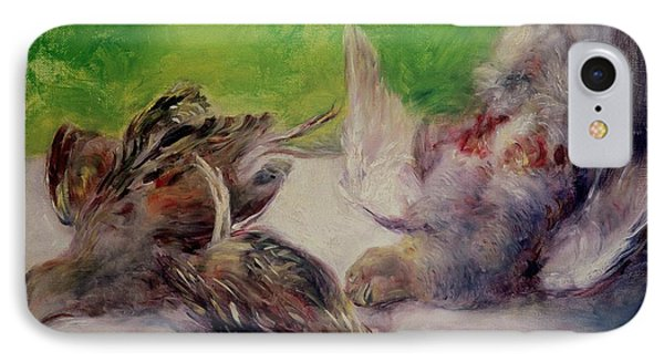 Still Life With Pheasants  IPhone Case by Pierre Auguste Renoir
