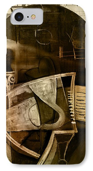 Still Life With Piano And Bust IPhone Case by Kim Gauge