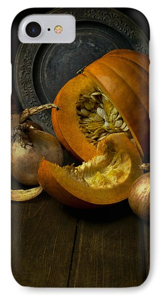 Still Life With Pumpkin IPhone Case