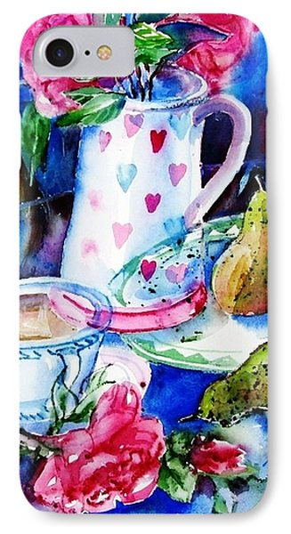 Still Life With Roses  Phone Case by Trudi Doyle