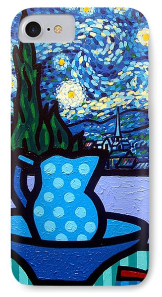 Still Life With Starry Night IPhone Case