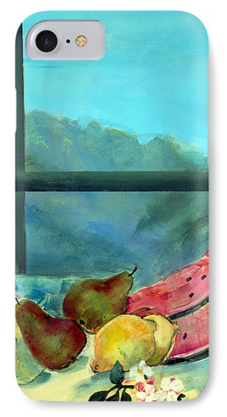 Still Life With Watermelon Phone Case by Marisa Leon