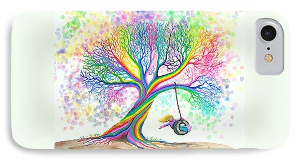 Still More Rainbow Tree Dreams IPhone Case