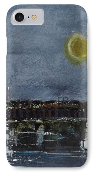 IPhone Case featuring the painting Still Of The Night # 2 by Nicole Nadeau