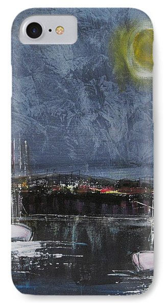 IPhone Case featuring the painting Still Of The Night  by Nicole Nadeau