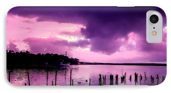 IPhone Case featuring the photograph Still Water Dusk by Wallaroo Images