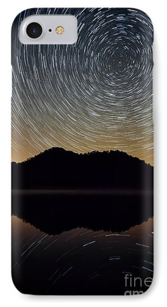 Still Water Star Trails IPhone Case by Anthony Heflin