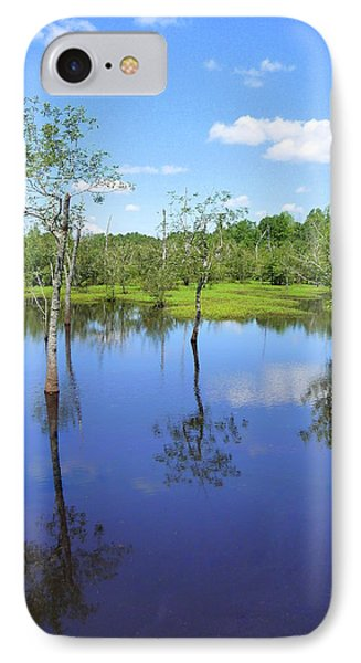 IPhone Case featuring the photograph Still Waters by Jim Whalen