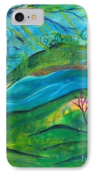 Stillness IPhone Case by Denise Hoag