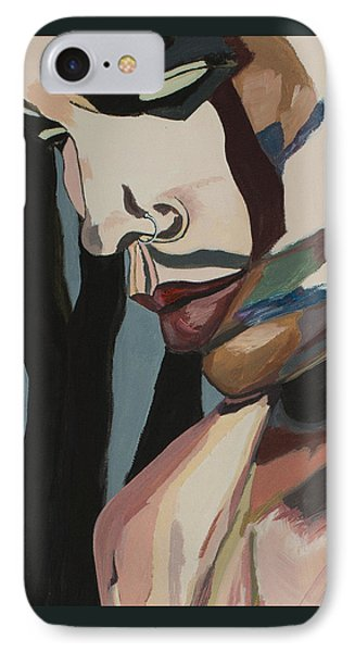 Stillness Of Heart Portrait Crop IPhone Case