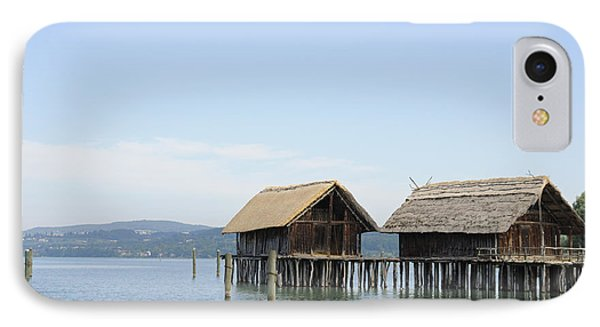 Stilt Houses In The Water Lake Constance Phone Case by Matthias Hauser