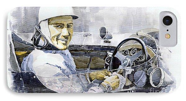 Stirling Moss IPhone Case by Yuriy  Shevchuk