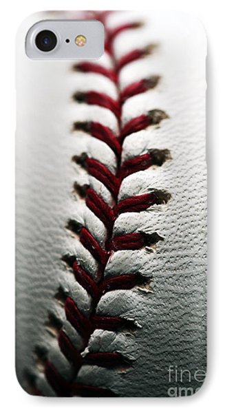 Stitches I Phone Case by John Rizzuto