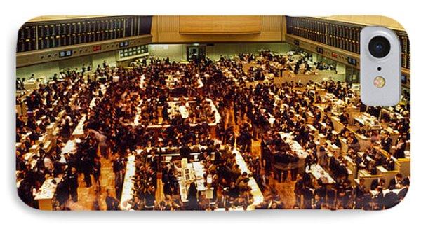 Stock Exchange Tokyo Japan IPhone Case