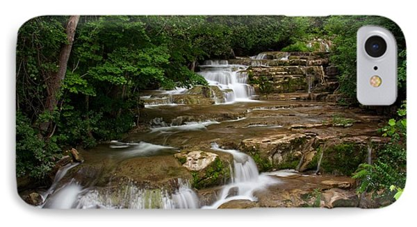 IPhone Case featuring the photograph Stockbridge Falls by Dave Files