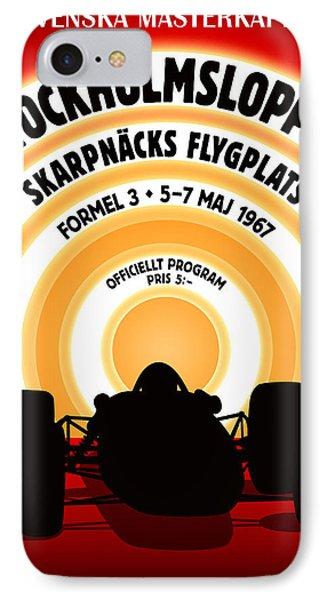 Stockholm Formula 3 1967 IPhone Case by Georgia Fowler