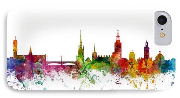 Stockholm Sweden Skyline IPhone Case