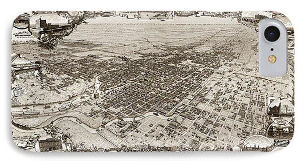 Stockton San Joaquin County California  1895 Phone Case by California Views Mr Pat Hathaway Archives