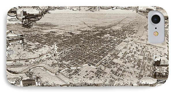 Stockton San Joaquin County California  1895 IPhone Case