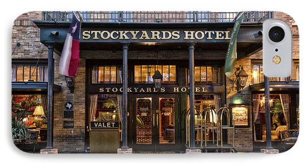 Stockyards Hotel IPhone Case