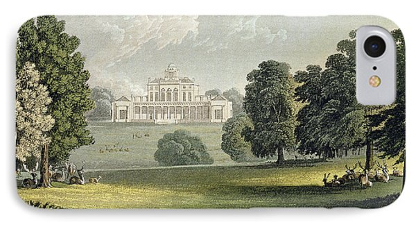 Stoke Park, From Ackermanns Repository IPhone Case
