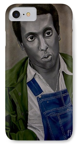 Stokely Carmichael Aka Kwame Toure IPhone Case by Chelle Brantley