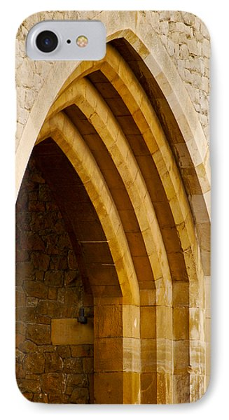 Stone Archway At Tower Hill Phone Case by Christi Kraft