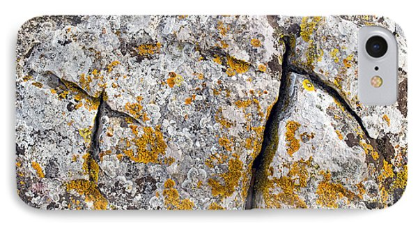 Stone Background IPhone Case by Sinisa Botas