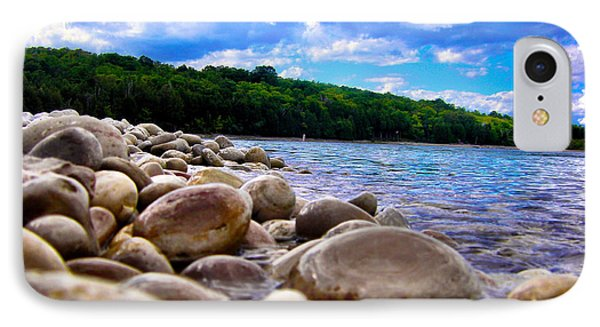 Stone Beach IPhone Case by Zafer Gurel