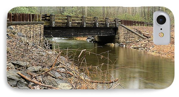 Stone Bridge At Weikert Run #1 - Bald Eagle State Forest IPhone Case