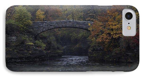 Stone Bridge In Autumn II IPhone Case