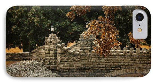 Stone Bridge In Autumn IPhone Case
