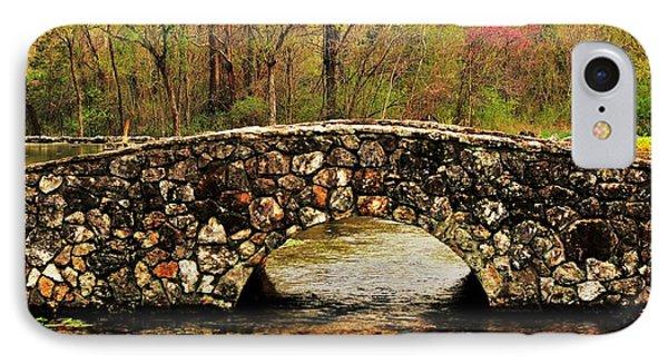 Stone Bridge In The Ozarks Phone Case by Benjamin Yeager