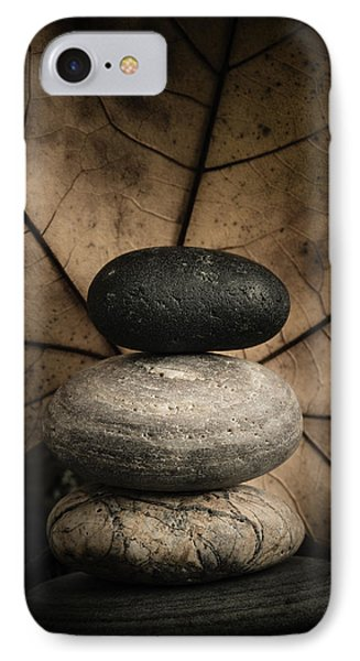 Stone Cairns II IPhone Case by Marco Oliveira