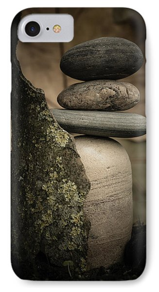 Stone Cairns IIi IPhone Case by Marco Oliveira