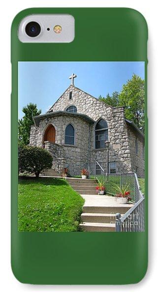 Stone Church IPhone Case by Ann Horn
