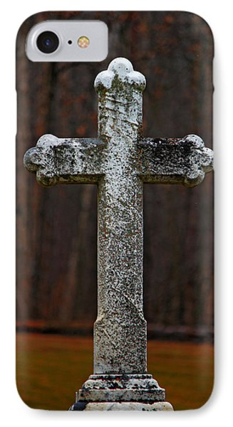 IPhone Case featuring the photograph Stone Cross by Rowana Ray