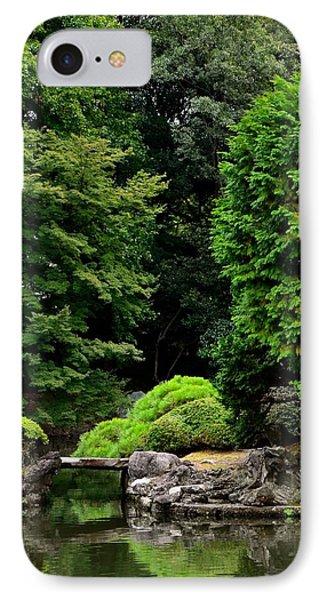Stone Foot Bridge IPhone Case by Corinne Rhode
