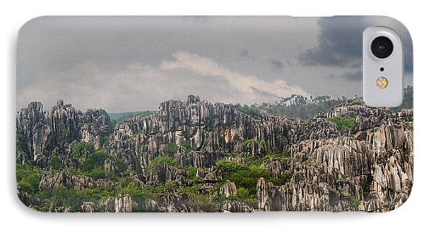 Stone Forest 2 IPhone Case by Robert Hebert