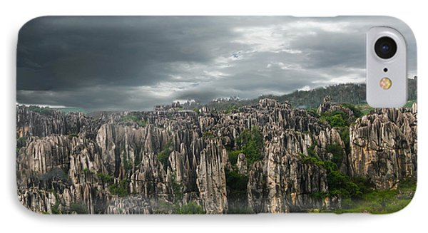 Stone Forest IPhone Case by Robert Hebert
