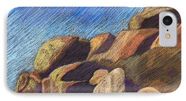 Stone Formations IPhone Case by Pattie Calfy